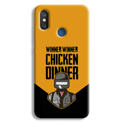 Pubg Chicken Dinner Redmi 8 Case