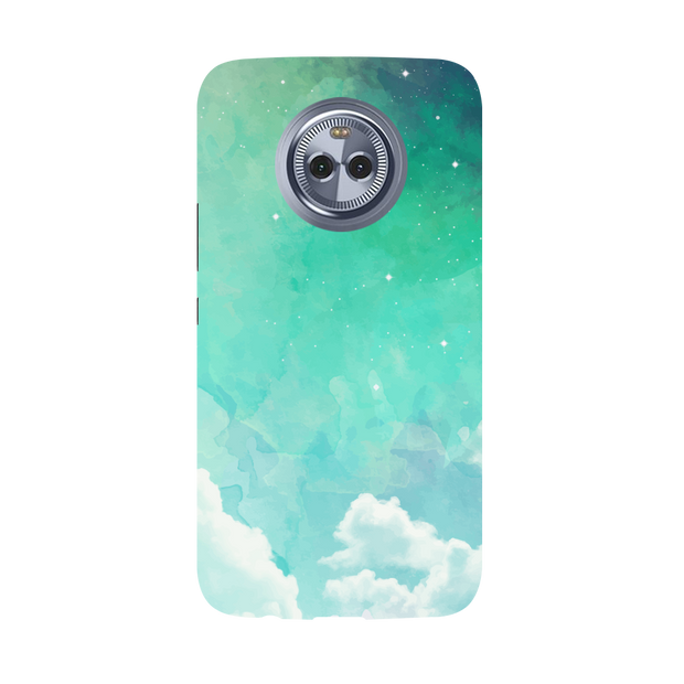 Blue Resonance  Moto X4 Case