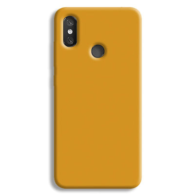 Yellow Ochre Redmi 8 Case