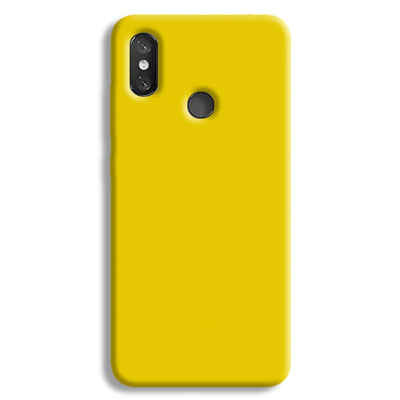 Yellow Shade Redmi 8 Case