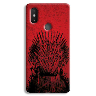 Red Hot Iron Thrones Xiaomi Mi 8 SE Case