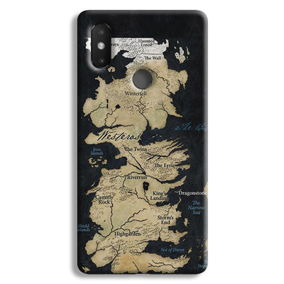 Game of Thrones Map Xiaomi Mi 8 SE Case