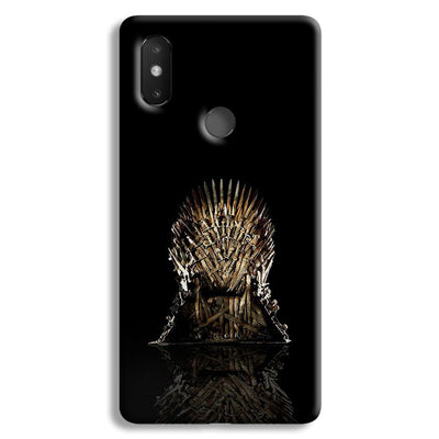 Black Iron Thrones Xiaomi Mi 8 SE Case
