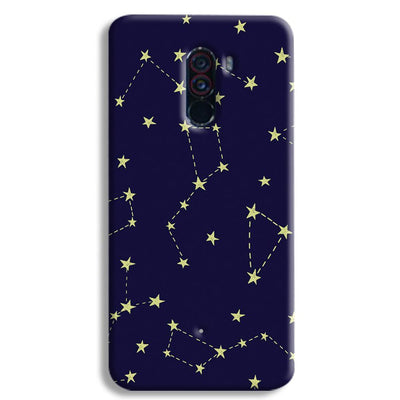 Constellation Blue POCO F1 Case