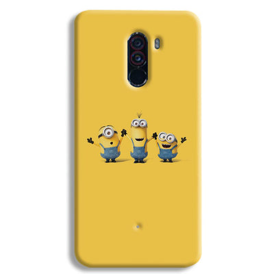 Three Minions POCO F1 Case
