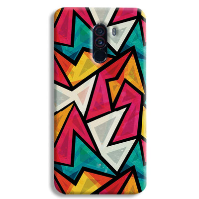 Angular Pattern POCO F1 Case