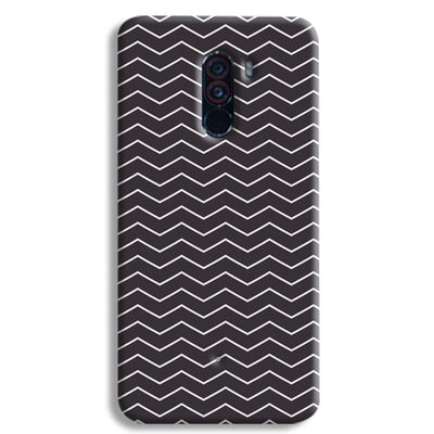 Chevron Pattern POCO F1 Case