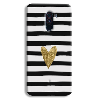 Bling Heart POCO F1 Case