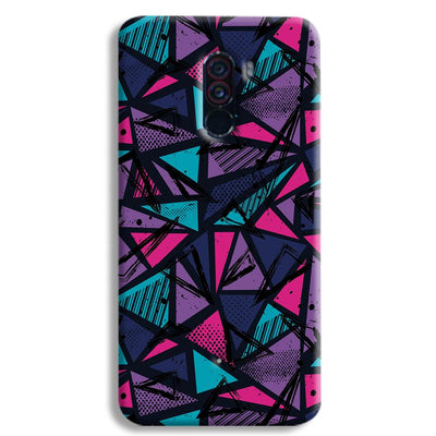 Blues Pattern POCO F1 Case
