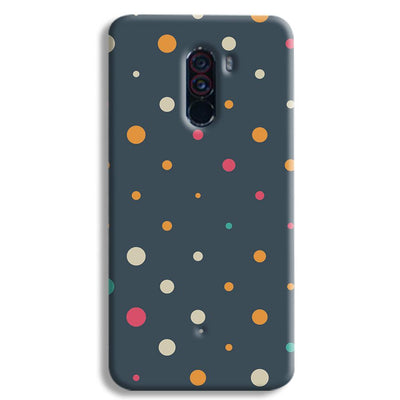 Polka Dot Pattern POCO F1 Case