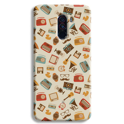 Vintage Elements Pattern POCO F1 Case