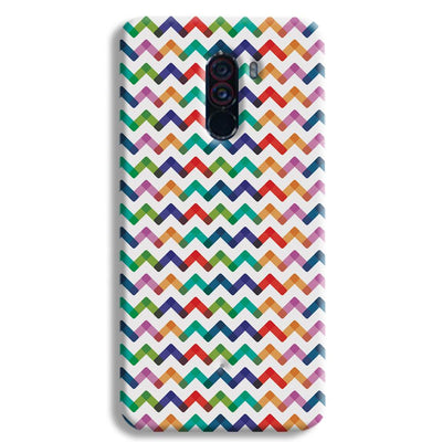 Colors Chevron POCO F1 Case