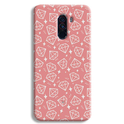Diomonds Pattern POCO F1 Case
