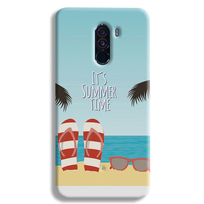 It's Summer Time POCO F1 Case