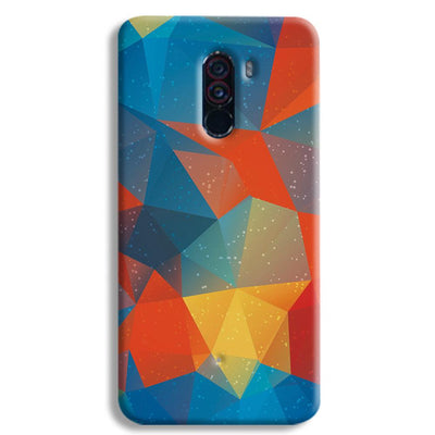 Mint Color Tiles POCO F1 Case