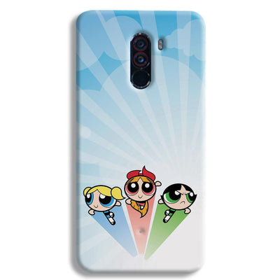 The Powerpuff Girls POCO F1 Case