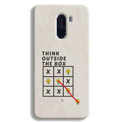 Think Outside the Box POCO F1 Case