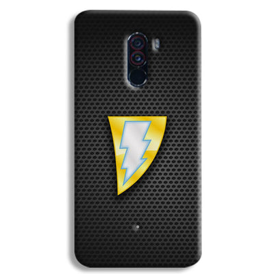 Black Adam POCO F1 Case