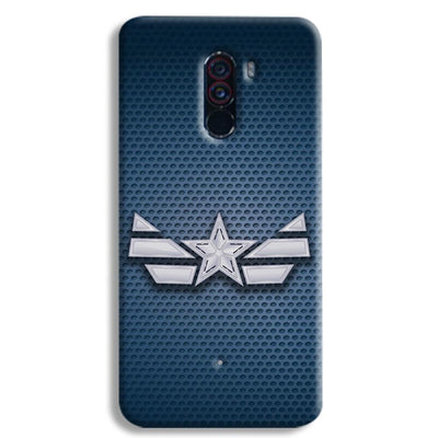 Captain America Costume POCO F1 Case
