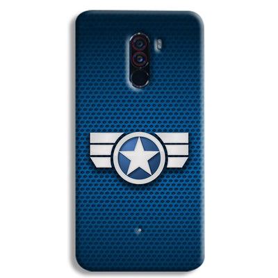 Captain America Secret Avengers POCO F1 Case
