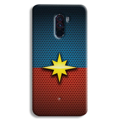 Captain Marvel POCO F1 Case