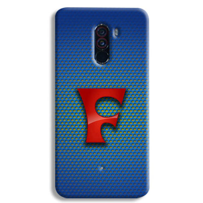 Blue Falcon POCO F1 Case