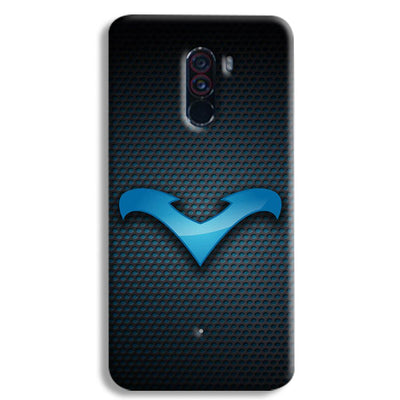 Nightwing Blue POCO F1 Case