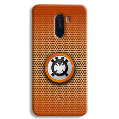 Orange Lantern POCO F1 Case