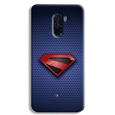 Superman Blue POCO F1 Case