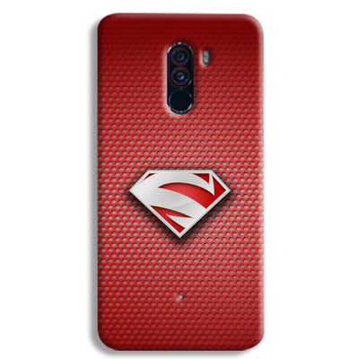Superman Red POCO F1 Case