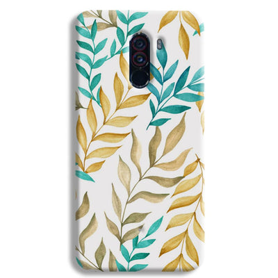 Tropical leaves  POCO F1 Case