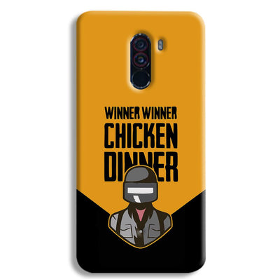 Pubg Chicken Dinner POCO F1 Case