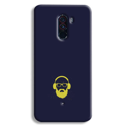 Bearded Man POCO F1 Case