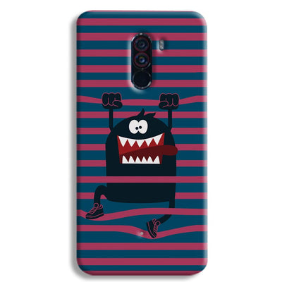 Laughing Monster POCO F1 Case