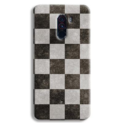 Checkered  POCO F1 Case