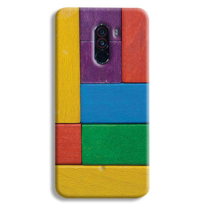 Color Block POCO F1 Case
