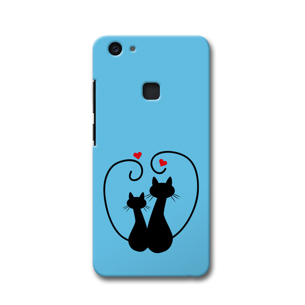 Cat Love Vivo V7 Plus Case