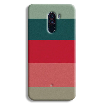 Colored Strips POCO F1 Case