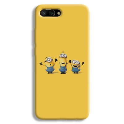 Three Minions Honor 10 Case