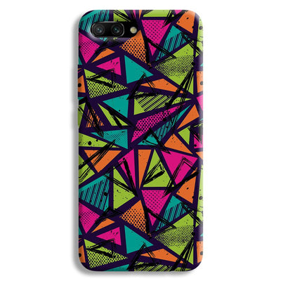 Geometric Color Pattern Honor 10 Case