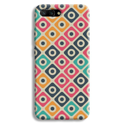 Shapes Pattern Honor 10 Case