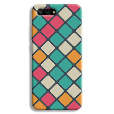 Colorful Tiles Pattern Honor 10 Case