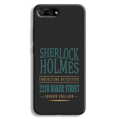 Sherlock Holmes Quote Honor 10 Case