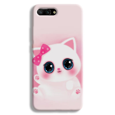 Pink Cat Honor 10 Case