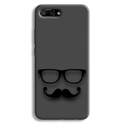 Cute mustache Gray Honor 10 Case