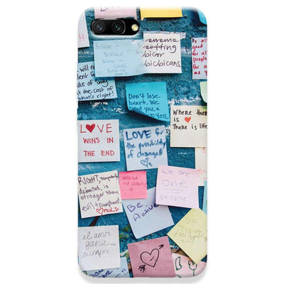 Love Note Honor 10 Case