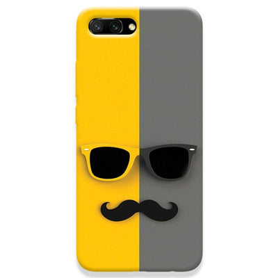 Mr. Mustache Honor 10 Case