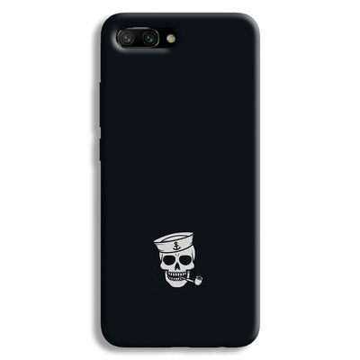 Smoking Skull Honor 10 Case
