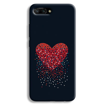 Sparkling Heart Honor 10 Case