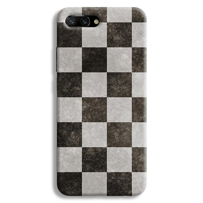 Checkered  Honor 10 Case